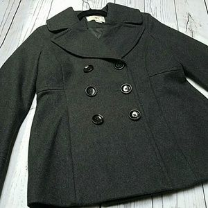 Michael Kors wool coat pea coat cozy jacket